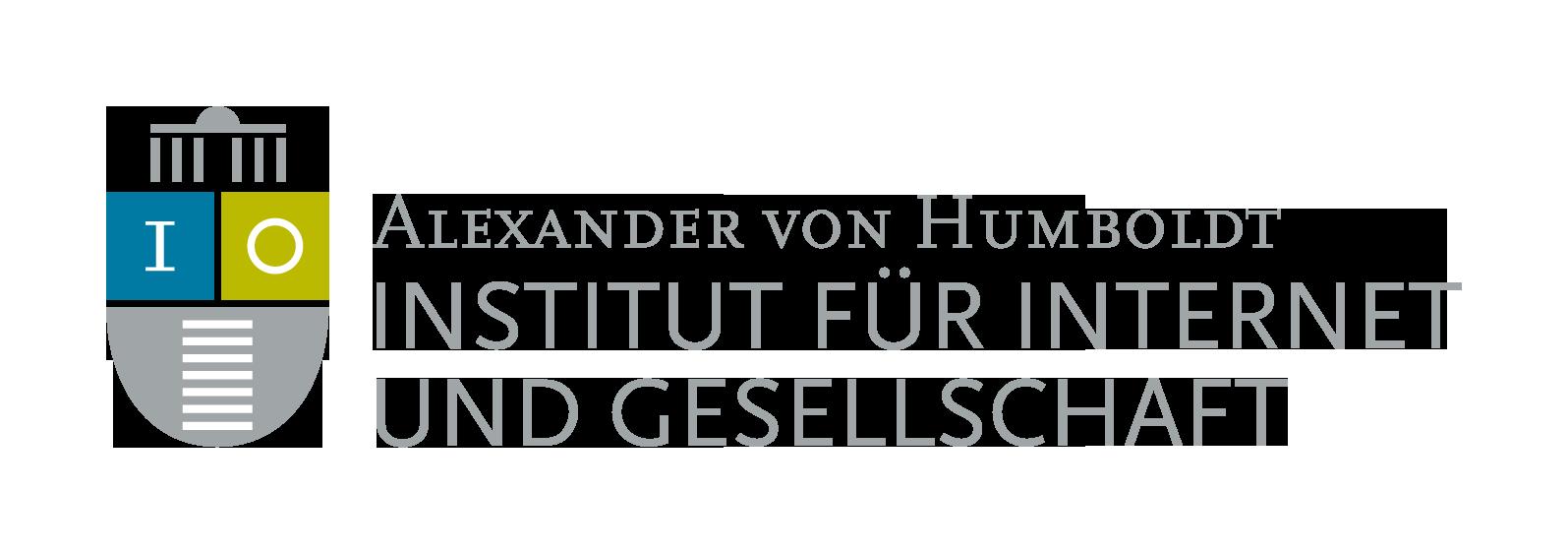 Studentischer Mitarbeiter (m/w/d) im Projekt Scholar-led Plus - Alexander von Humboldt Institut für Internet und Gesellschaft gGmbH - Logo