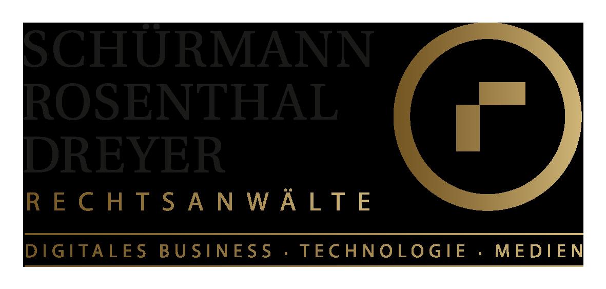 Wissenschaftliche/Studentische Hilfskraft (m/w/d) für die Redaktion von juristischen Texten - Schürmann Rosenthal Dreyer Rechtsanwälte - Logo