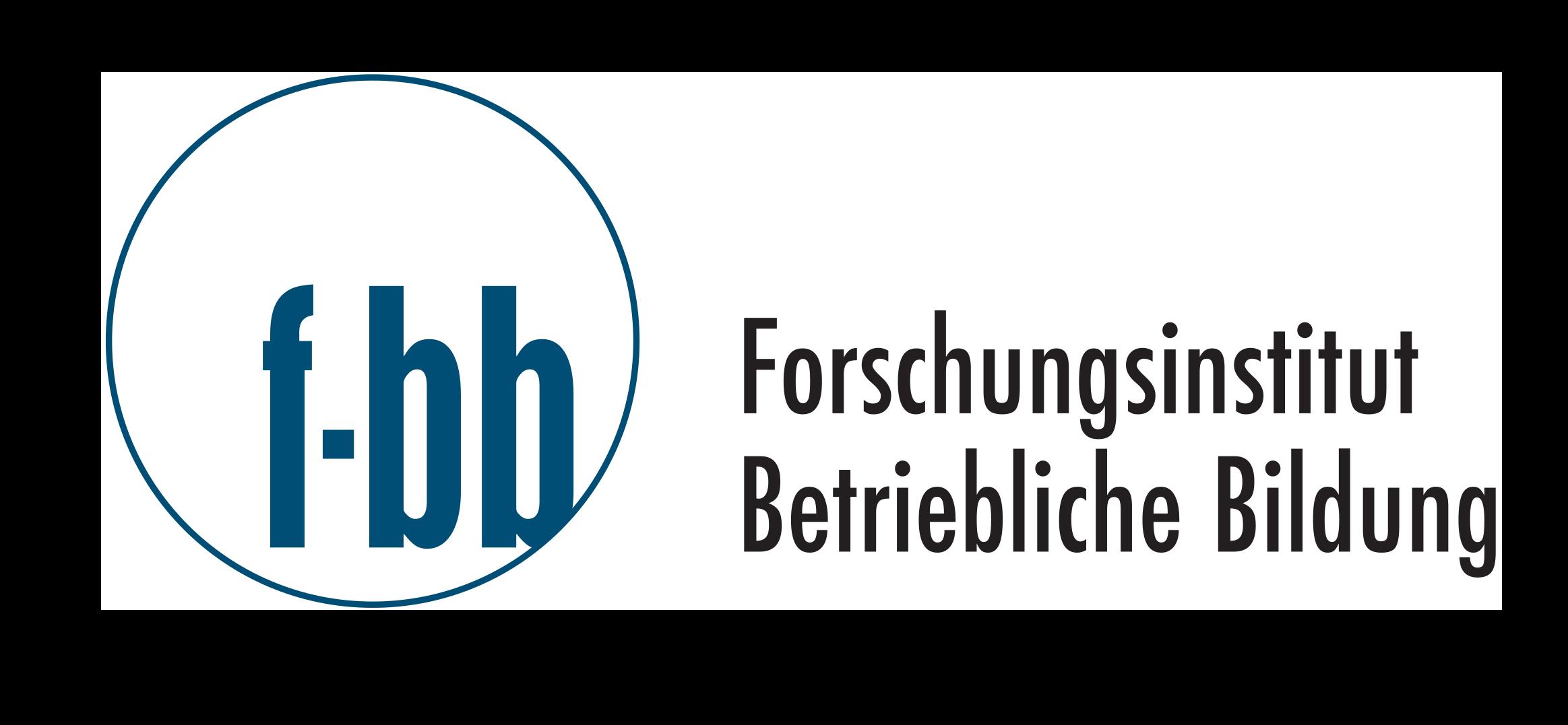 Studentische Hilfskraft (m/w/d) für den Standort Chemnitz (Kennziffer: 22/2021) - Forschungsinstitut Betriebliche Bildung (f-bb) gGmbH - Logo