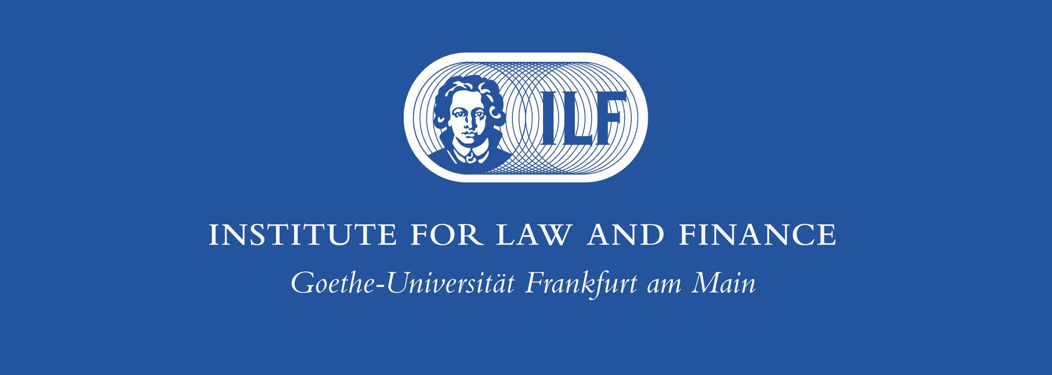 Studentische/r Bibliotheksmitarbeiter*in für 20 Stunden/Woche (m/w/d) - Institute for Law and Finance der Goethe-Universität Frankfurt - Logo
