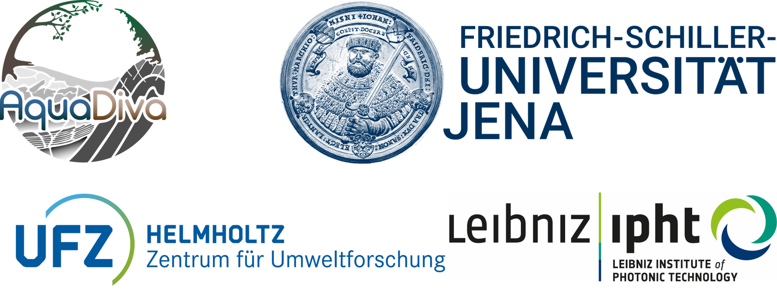 10+ Doctoral Researcher Positions (m/f/d) in Microbiology/Ecology, Botany, Raman Spectroscopy, Chemistry, Geosciences, Hydrology, Biogeochemical Modeling - Friedrich Schiller University Jena - Logo