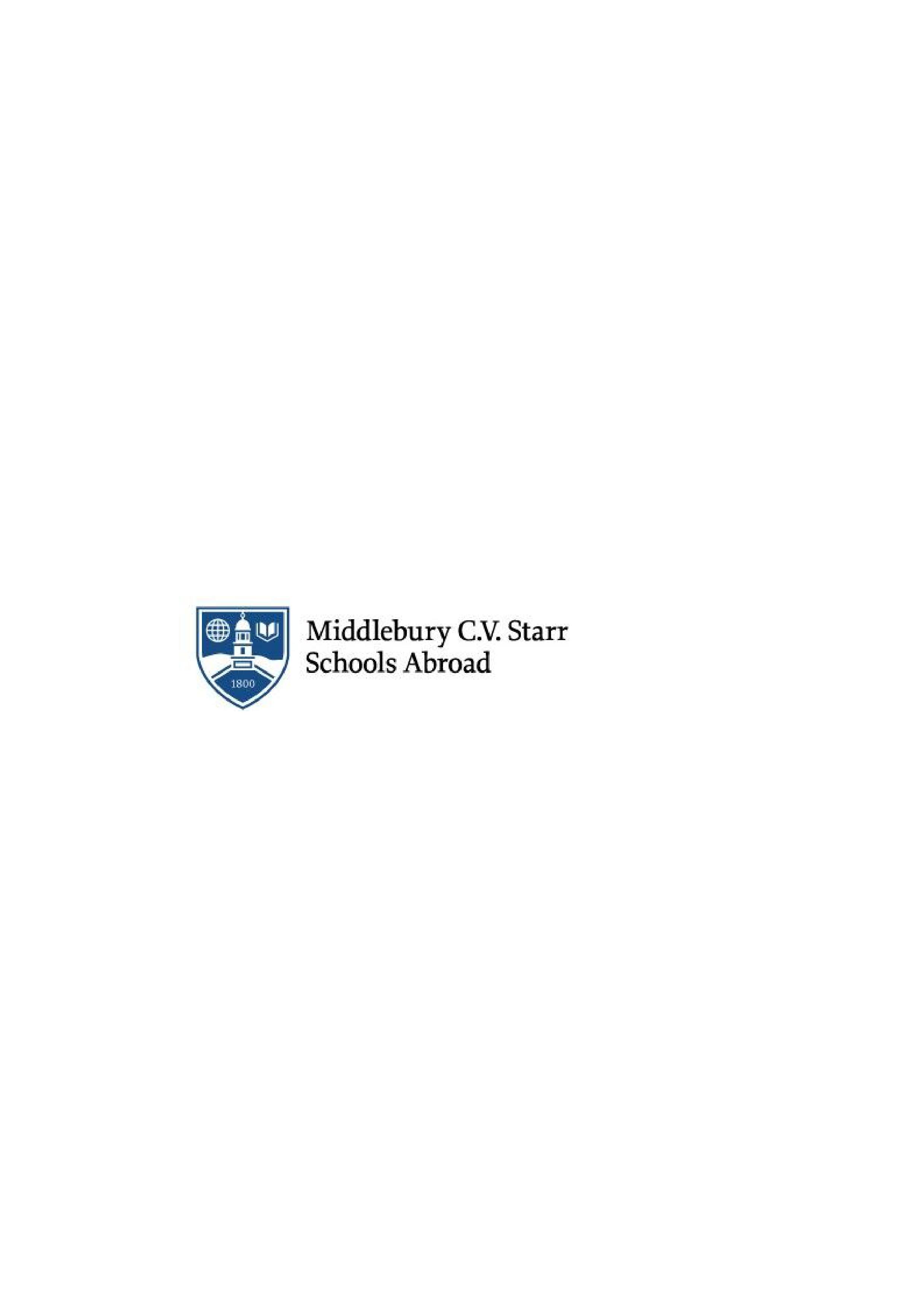 Tutor_innen zur akademischen Betreuung internationaler Studierender gesucht - Middlebury CV Starr School in Germany - Logo