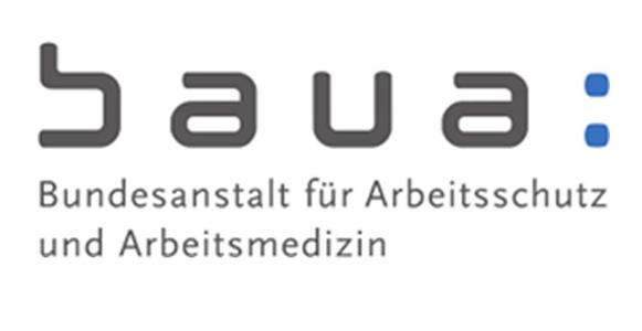 Pflichtpraktikum Ortsflexibles Arbeiten: Gestaltung von Legetrick-Videos - Bundesanstalt für Arbeitsschutz und Arbeitsmedizin - Logo