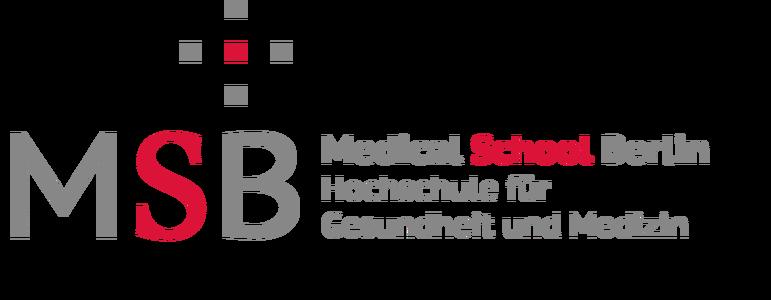 Wissenschaftlicher Mitarbeiter Schwerpunkt Lehre und Forschung (w/m/d) – Anatomie - MSB Medical School School Berlin Hochschule für Gesundheit und Medizin - Logo